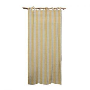 Draperie Linen Cuture Cortina Hogar Yellow Stripes, galben