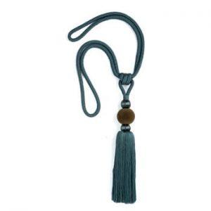 Catarama decorativa pentru draperie Velvet Atelier, albastru