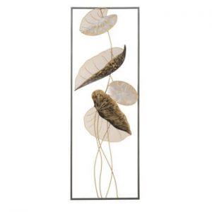 Decoratiune metalica pentru perete Mauro Ferretti Loto A, 31x89,5cm