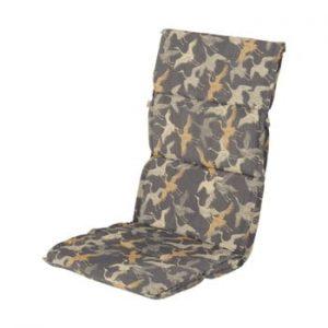 Saltea scaun gradina Hartman Yellow Silvan, 123 x 50 cm