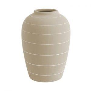 Vaza din ceramica PT LIVING Terra, ⌀ 13 cm, alb crem