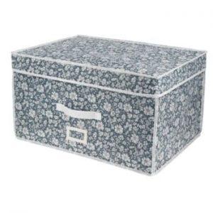 Cutie de depozitare cu vid pentru haine Compactor Signature Vicky, 150 l, albastru