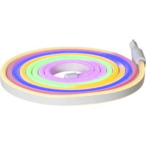 Sirag luminos pentru exterior Best Season Rope Light Flatneon, lungime 500 cm