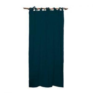 Draperie Linen Cuture Cortina Hogar Turquoise, turcoaz inchis