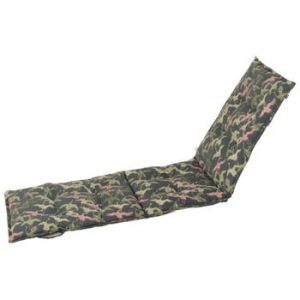 Saltea scaun gradina Hartman Pink Silvan, 195 x 63 cm