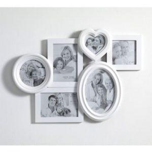 Rama foto de perete Tomasucci Random, alb
