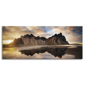 Tablou imprimat pe panza Styler Iceland, 150 x 60 cm