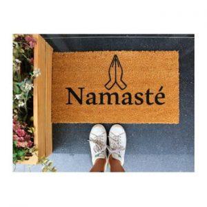 Pres Doormat Namaste, 70 x 40 cm