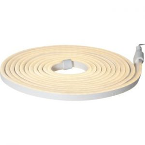 Sirag luminos pentru exterior Best Season Rope Light Flatneon, lungime 500 cm, galben deschis
