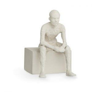 Statueta din ceramica Kähler Design Character The Reflective One