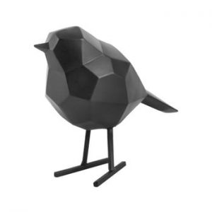 Statueta PT LIVING Bird Small , negru