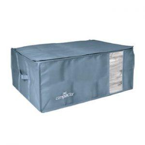 Cutie de depozitare cu vid pentru haine Compactor Blue Edition, 210 l