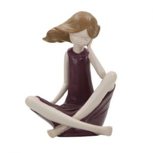 Statueta decorativa Mauro Ferretti Dolly, inaltime 18 cm
