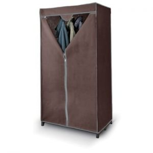Dulap textil haine Domopak Living Closet, maro