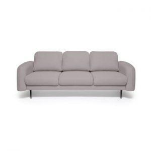 Canapea cu 3 locuri Vivonita Skolm, gri