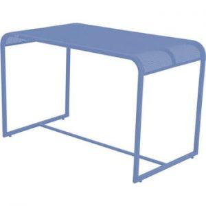 Masa de balcon metalica ADDU MWH, 63 x 110 cm, albastru