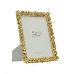 Rama foto Mauro Ferretti Rose, 20 x 25 cm, auriu