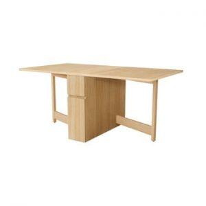 Masa extensibila din lemn de stejar Woodman Mel