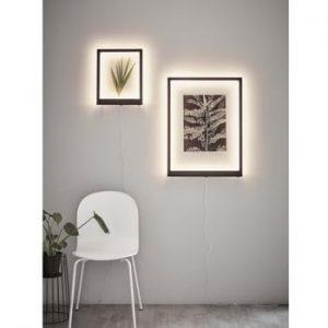 Rama luminoasa cu LED pentru perete Markslöjd Frame, 71 x 53 cm, alb