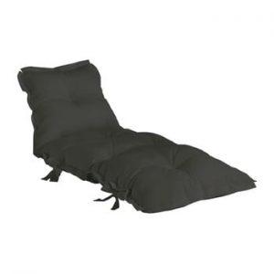 Futon extensibil adecvat pentru exterior Karup Design OUT™ Sit&Sleep Dark Grey, gri inchis