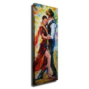 Tablou pe panza Dance, 30 x 80 cm