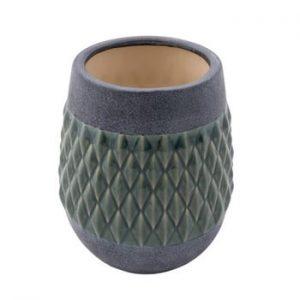 Vaza din ceramica Zuiver Nito Moss, inaltime 23 cm