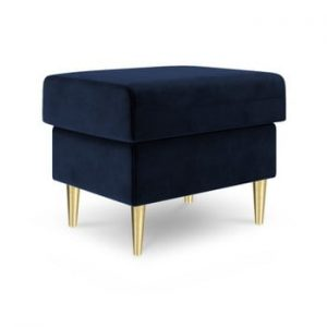 Puf Mazzini Sofas Muguet, 60 x 45 cm, albastru