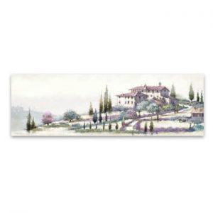 Tablou imprimat pe panza Styler Tuscany, 140 x 45 cm