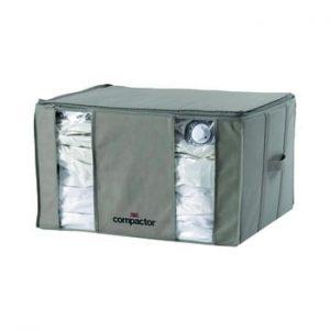 Cutie de depozitare pentru haine Compactor Home Taupe, 165 l