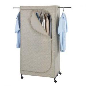 Sifonier textil depozitare Wenko Balance, 160 x 50 x 75 cm, bej