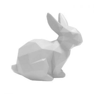 Decoratiune PT LIVING Origami Bunny, alb