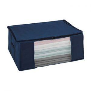 Cutie depozitare vacuum Wenko Air, 50 x 65 x 25 cm, albastru