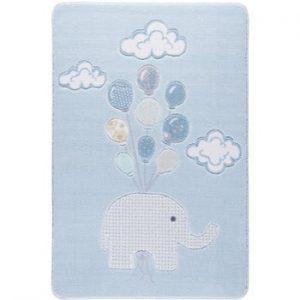 Covor pentru copii Sweet Elephant Azul, 133 x 190 cm
