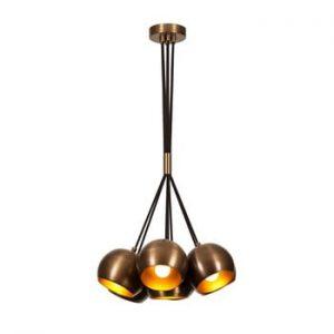 Lustra Opviq lights Sivani, bronz