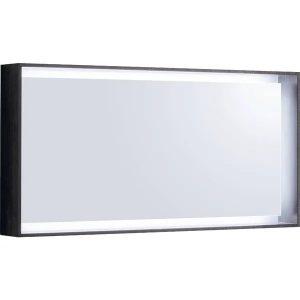 Oglinda cu iluminare LED Geberit Citterio maro gri 119 cm