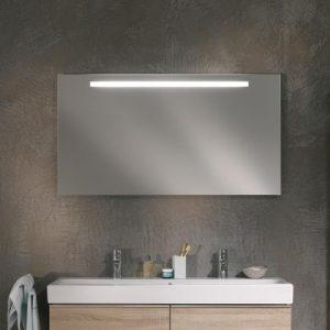 Oglinda cu iluminare LED Geberit Option Plus argintiu 120 cm
