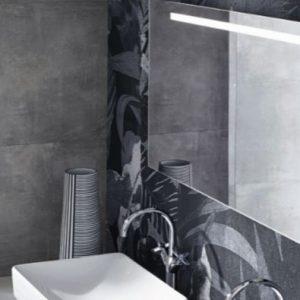 Oglinda cu iluminare LED Geberit Option Plus argintiu 40 cm
