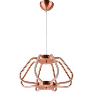 Pendul LED Horoz Electric Electra Red Copper, 38 W
