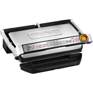 Gratar electric Tefal OptiGrill+ XL Snacking & Baking GC724D12, 2000 W