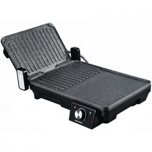 Gratar electric Heinner Marble TPGrill HEG-F20002P, 2000 W