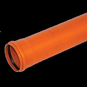 Conducta din PVC SN4 DN 125 mm x 4 m