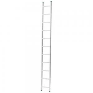 Scara aluminiu simpla Eurostil Alverosal cu 14 trepte, 393 cm