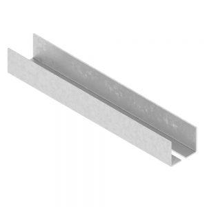 Profil UA 50 x 4000 x 2 mm Nida Metal