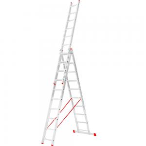 Scara aluminiu, 3 x 10 trepte